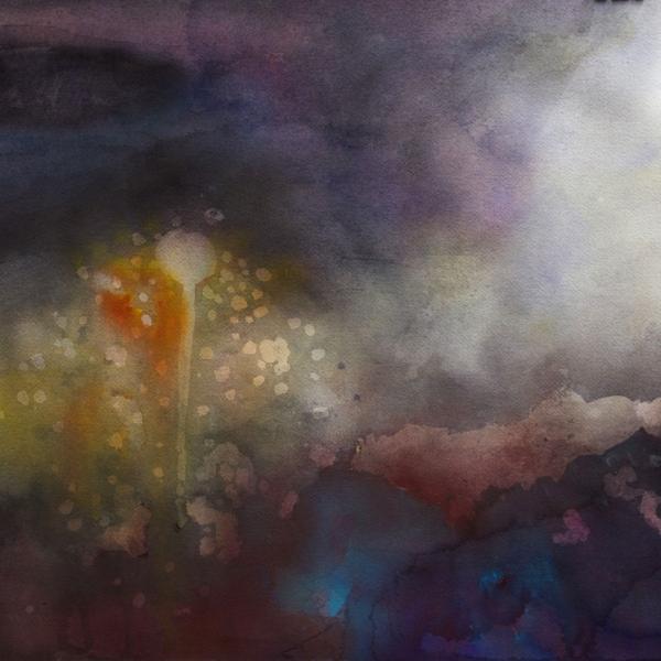 Ranskalainen sade, 45x60cm, akvarelli 2015