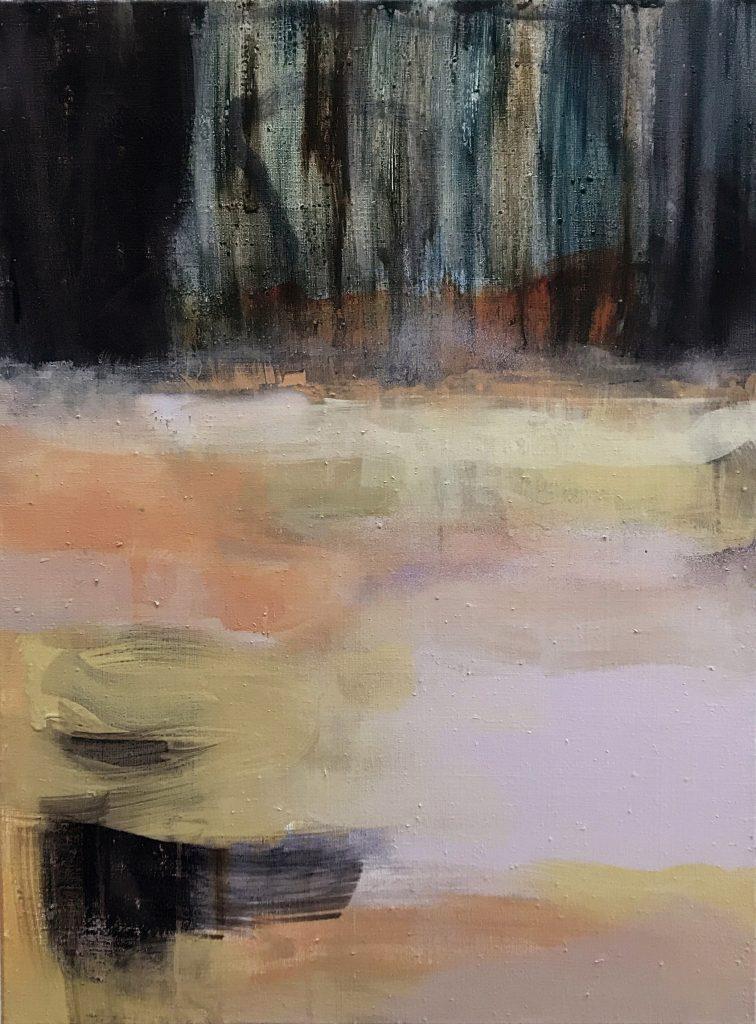 Krista Kortelainen, Sella, 80 x 60 cm, akryyli kankaalle 2020